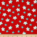 Puffy Teddy Stars Red