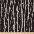 Kanvas Shades of Winter Winter Trees Black