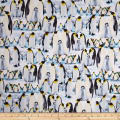 Kanvas The Great North Wilderness Penguin Parade Ice Blue