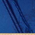 Sequin Dot Fabric Royal