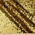 Dazzle Sequin Fabric Gold