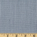 Polyester Uniform Houndstooth Navy/White Poplin