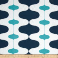 Premier Prints Indoor/Outdoor Ivon Oxford/Ocean