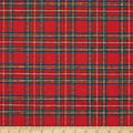 Washable Wool Plaid Red/Blue/Green