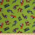Nickelodeon TMNT Flannel Turtle Trouble Green