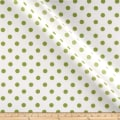 RCA Polka Dots Sheers Green