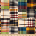 Kaufman Nantucket Patchwork Plaid Americana