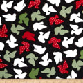 Kaufman Jingle Birds Black
