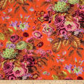 Kaffe Fassett Floral Delight Orange