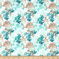 Flora by Kelly Ventura Fields Lawn Teal Multi