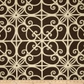 Home Accent Puerta Trellis Chocolate