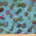 Indian Batik Kolina Fields Pineapple Blue