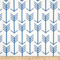 Premier Prints Arrow White/Cobalt