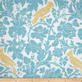 Premier Prints Barber Coastal Blue/Saffron