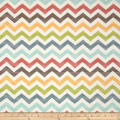 Riley Blake School Days Chevron Cream