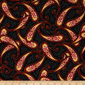 Botanica III The Scarlet Story Paisley black