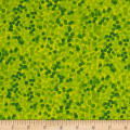"108"" Wide Quilt Back Chromadots Lime Green"