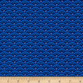 Timeless Treasures Elise Scallop Blue