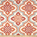Waverly Quilted Lattice Imprint Paprika