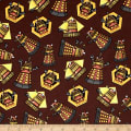 BBC Doctor Who Exterminate Brown