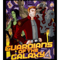 Marvel Guardians of the Galaxy Gangs All Here 36'' Panel Multi