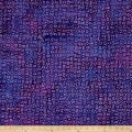 Indian Batik Gypsy Circles  Purple