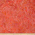 Indian Batik Lava Spray Texture Coral
