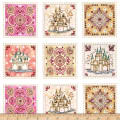 Royal Princess Castle & Medallion 36 In. Patch Multi