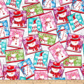 Sweet Season Snowman Patch Multi