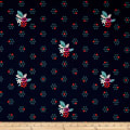 Cotton + Steel Fruit Dots Fruit Blossom Navy