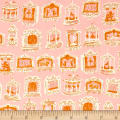Cotton + Steel Penny Arcade Pink
