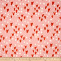 Cotton + Steel Clover Tulips Pink