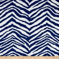 Terrasol Indoor/Outdoor Zebra Navy