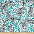 Premier Prints  Shannon Indoor/Outdoor Oxford/Ocean