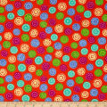 Joyful Medley Buttons Orange