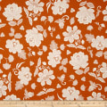 Hoffman Simply Eclectic Lace Floral Marmalade