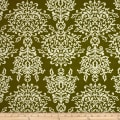 Riley Blake Botanique Damask Green