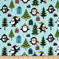 Jolly Penguin & Friends Jolly Penguin Holiday Turq/Multi