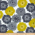 Fresh Bloom Little Blooms Gray/Citrine