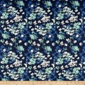 Art Gallery Denim Print Painterly Wash
