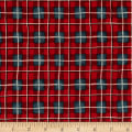 Fall Retreat Plaid Red