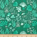 Camelot Under the Sea Sea Creatures Teal