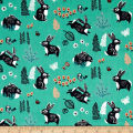 Birch Organic Hidden Garden Bunny Hop Green
