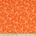 Verna Mosquera Candelabra Windswept Orange