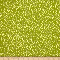 Birch Organic Mod Basics 3 Interlock Knit Firefly Dots Grass