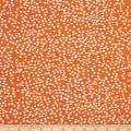 Birch Organic Mod Basics 3 Interlock Knit Firefly Dots Orange
