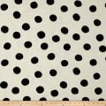 Birch Organic Mod Basics 3 Double Gauze Pop Dots Black
