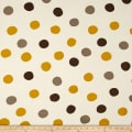 Birch Organic Mod Basics 3 Interlock Knit Pop Dots Golden