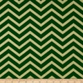 Michael Miller Holiday Glitz Sleek Chevron Spearmint Metallic