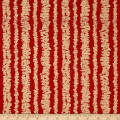 Michael Miller Holiday Glitz Glitz Bars Cherry Metallic